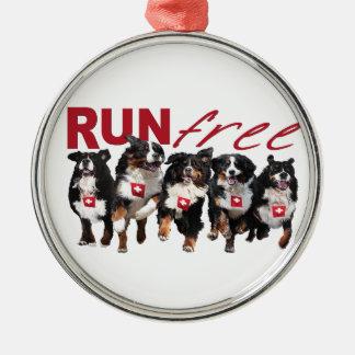 Run Free Christmas Ornament