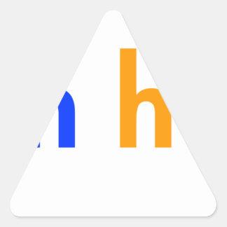 run-happy-smile-orange-blue.png triangle sticker