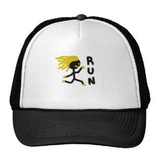 Run Trucker Hats