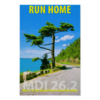 Run Home - Undated Poster