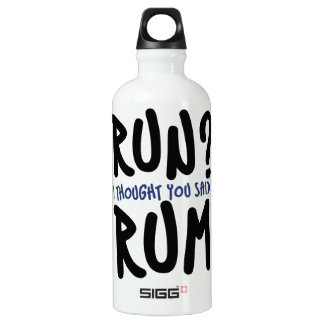 Run? I thought you said RUM SIGG Traveller 0.6L Water Bottle