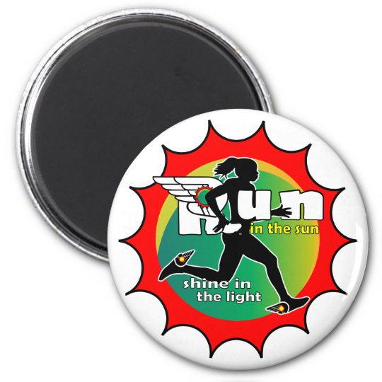 Run in the Sun Magnet