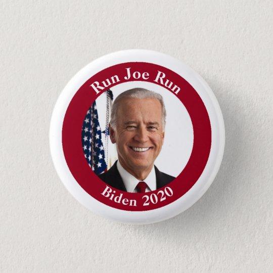 Run Joe Run - Joe Biden - 2020 3 Cm Round Badge