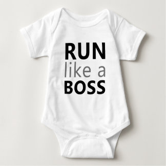 Run Like A Boss Baby Bodysuit