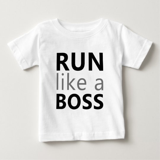 Run Like A Boss Baby T-Shirt