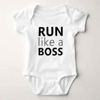 Run Like A Boss T Shirt