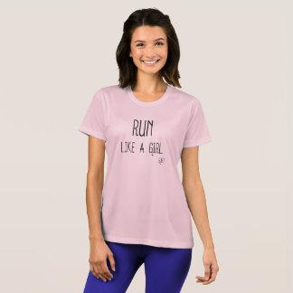 Run Like A GIRL Athletic Tee