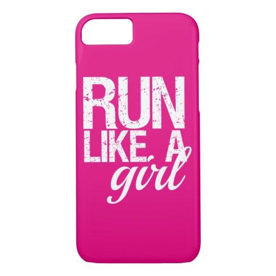 Run Like a Girl funny phone case
