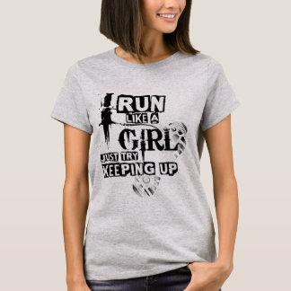 Run Like A Girl - London Marathon T-Shirt