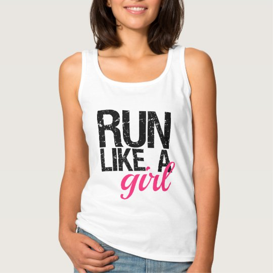 Run Like a Girl Women's Tank