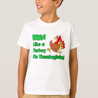 Run Like Turkey On Thanksgiving T-Shirt