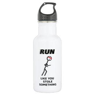 Run Like You Stole Something Water Bottle 532 Ml Water Bottle