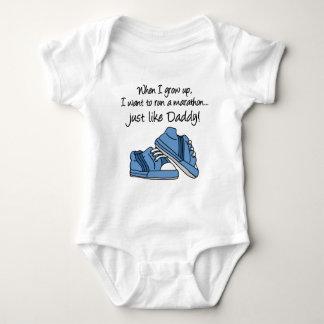 Run Marathon Just Like Daddy Tshirt