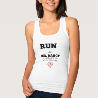 Run/Mr. Darcy Tank Top