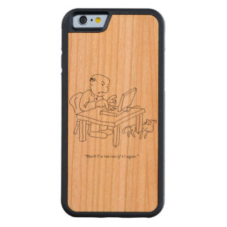 Run Out of 'E's Wood Smartphone Case Cherry iPhone 6 Bumper Case