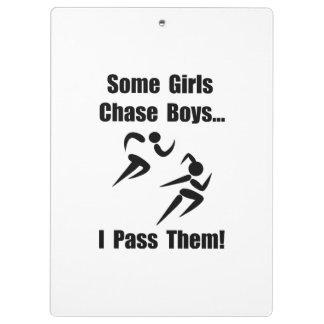 Run Pass Boys Clipboards