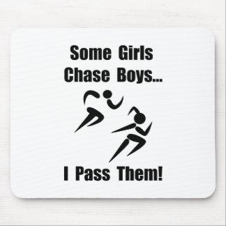 Run Pass Boys Mouse Pad