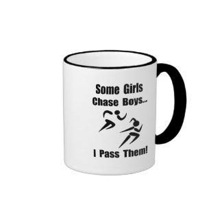 Run Pass Boys Ringer Mug