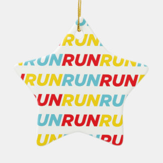 Run Run Run Christmas Ornament