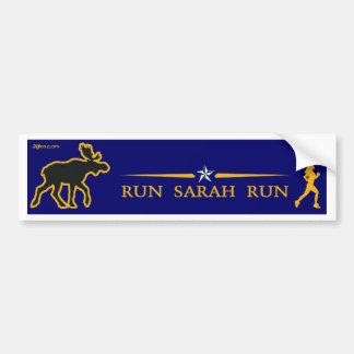 Run Sarah Palin Bumper Sticker