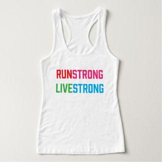 Run Strong Live Strong *Customisable Tank Top