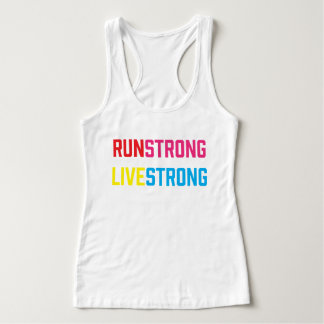 Run Strong Live Strong *Customisable T-shirt