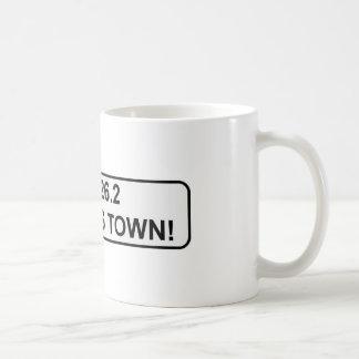run this town...NYC marathon pride Coffee Mugs