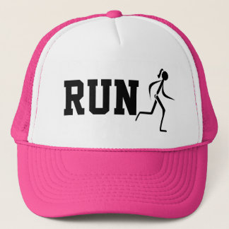 Run Trucker Hat