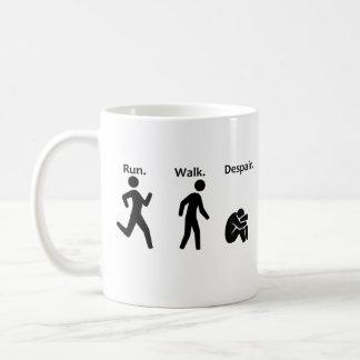 Run. Walk. Despair. Marathon Coffee Mug