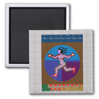 RUN Walk GYM Exercise Charity Causes GREETING GIFT Refrigerator Magnet