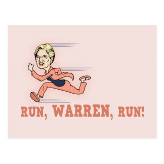 Run, Warren, Run! Post Cards