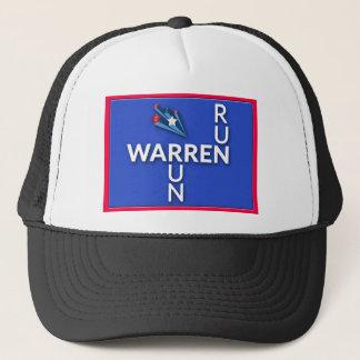 Run, Warren, Run Trucker Hat