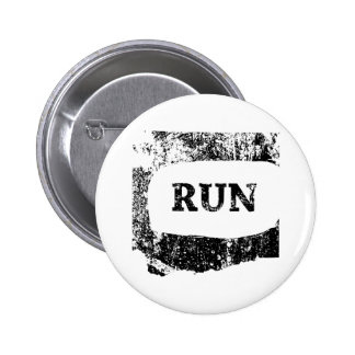 Run Washington Pinback Button