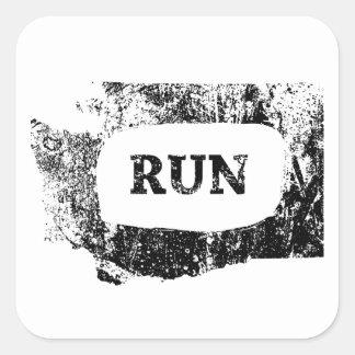 Run Washington Square Sticker