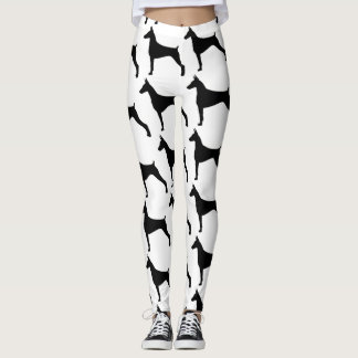 Run with your doberman leggings