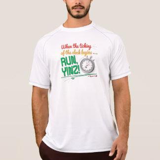 Run, Yinz! Marathon Design T-Shirt