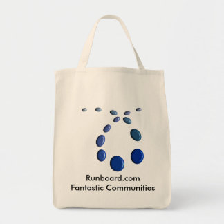 Runboard.com Grocery Tote