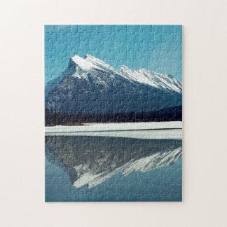 Rundle Mountain, Banff Jigsaw Puzzle