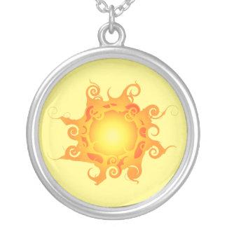 Rune Sun Necklace