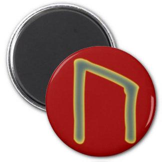 rune Uruz Futhark 6 Cm Round Magnet