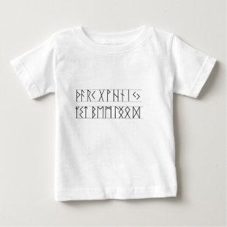 Runes Elder Futhark Baby T-Shirt