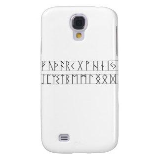 Runes Elder Futhark Galaxy S4 Case
