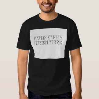 Runes Elder Futhark Tee Shirts