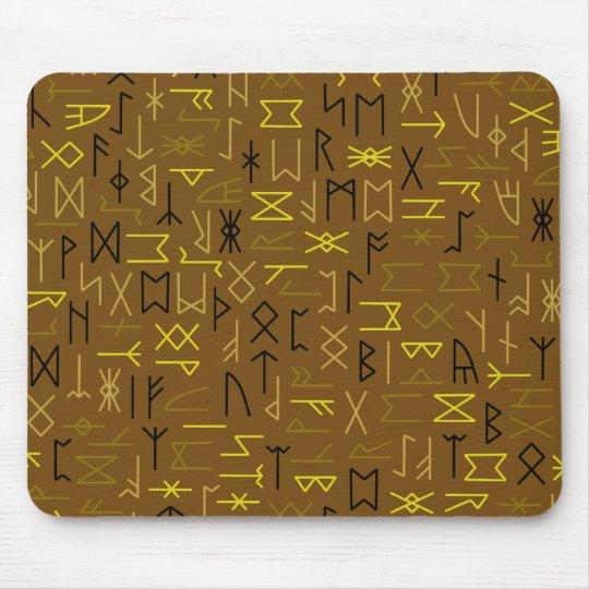 Runes Mouse Mat