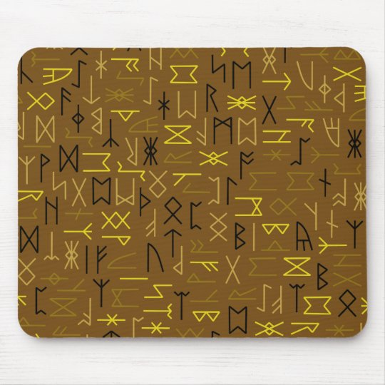 Runes Mouse Pad