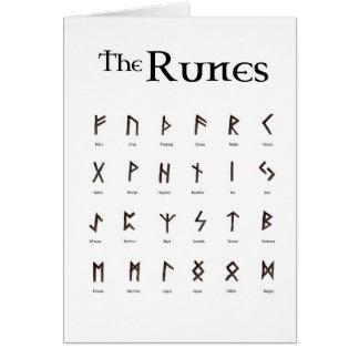 Runes - the Elder Futhark Card
