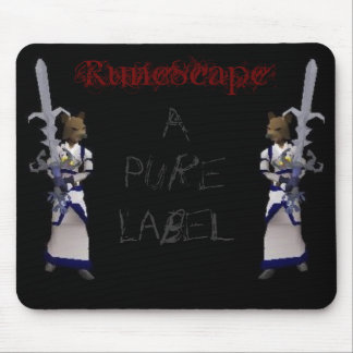 RuneScape - A Pure Label Mouse Mat