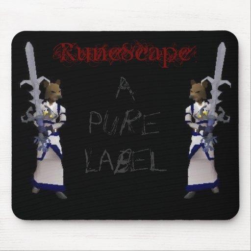 RuneScape - A Pure Label Mouse Mat