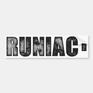 Runiac Bumper Sticker