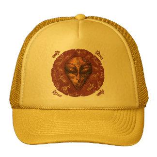 Runic Alien Trucker Hat